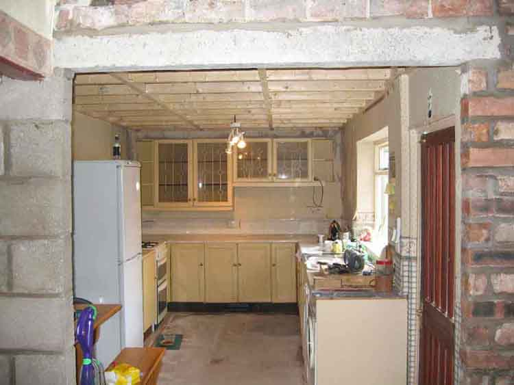Knock Through Between Kitchen And Dining Room